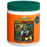 A wheatgrass powder product with lots of other healthy ingredients